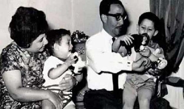 المهندس مع أولاده