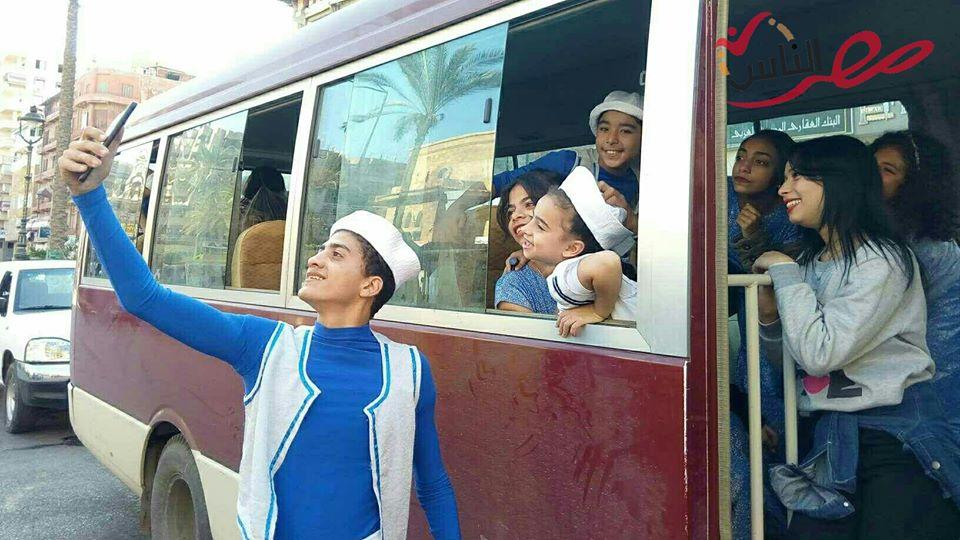 أهالي بور سعيد يحتفلون بالعيد القومي